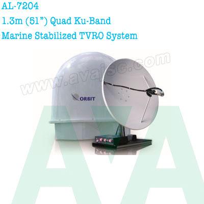 Anten vệ tinh trên biển Orbit AL-7204