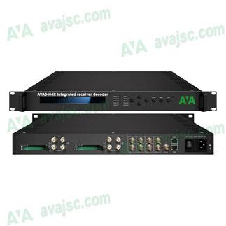 AVA3484X thiết bị thu giải mã tích hợp IRD, hỗ trợ IPTV