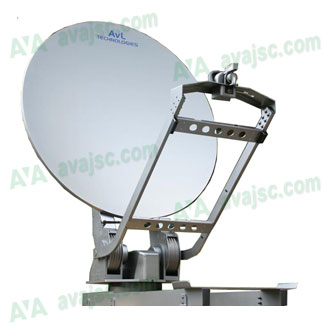 AvL Mobile VSAT Motorized Transportable Vehicle-Mount Antenna