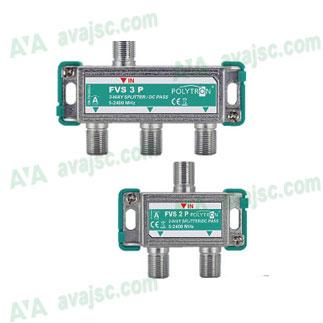 Bộ chia tín hiệu Anten DVB T2, chia tín hiệu chảo Parabol