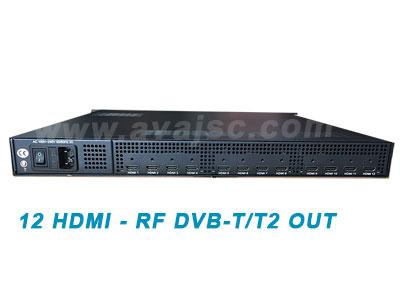 Bộ chuyển đổi AV sang RF - 12 ngõ HDMI ra DVB-T /T2