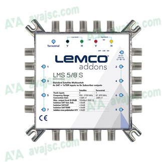 Bộ chuyển mạch Lemco LMS | Multiswitch 5 SAT + 1 TERR