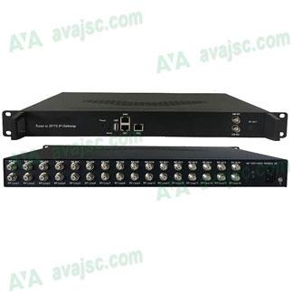 Bộ điều chế tín hiệu số DVB T/T2 sang IPTV