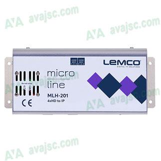 Bộ mã hoá tín hiệu 4 ngõ HDMI ra IPTV của Lemco