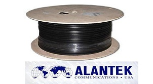 Cáp đồng trục tivi, cáp đồng trục rg6 Alantek và những ưu việt mà nó mang lại