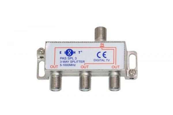 Chia tín hiệu truyền hình cáp Eight PAS SPL3