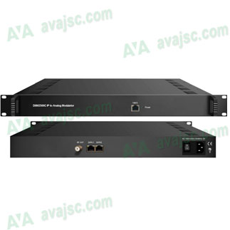 Điều chế IP sang PAL Analog DVB C, IP to Analog Modulator