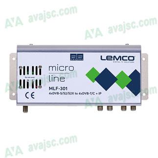 Điều chế Lemco MLF từ DVB-S/S2/T/T2/C ra DVB-T/C, IPTV