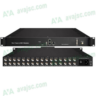 Điều chế số NDS3394T16S, vào 16 vệ tinh ra 8 nhóm DVB T
