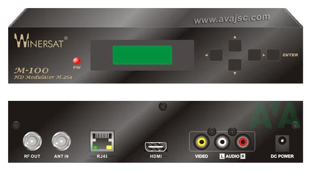 Điều chế tín hiệu RF số HD Winersat M-100