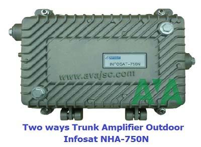 Khuếch đại tín hiệu truyền hình cáp Infosat 750N