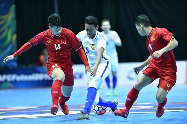 Lịch thi đấu giải vô địch VCK futsal châu Á 2018 tại Đài Loan theo giờ Việt Nam