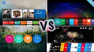 Những hệ điều hành phổ biến trên Smart Tivi hiện nay