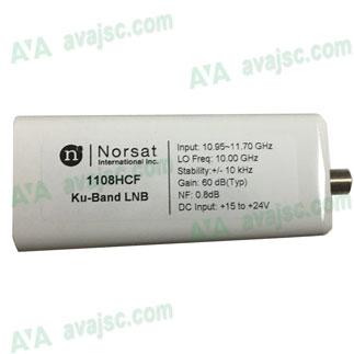 Norsat 1108HCF Ku-Band PLL VSAT LNB 10.95 - 11.70 GHz