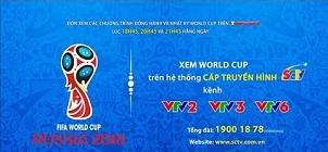 Thưởng thức trận cầu đỉnh cao tại World Cup 2018 trên hệ thống Truyền hình cáp SCTV