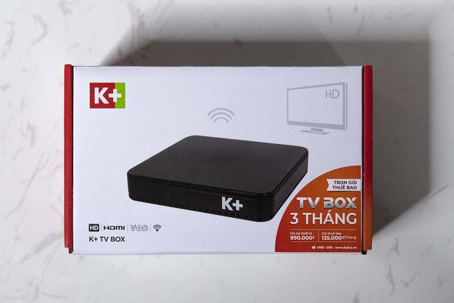 Tìm hiểu điểm nổi bật của K+ Tivi Box mới