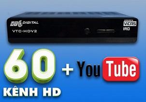 VTC làm đốn tim khán giả vì cho ra mắt đầu thu VTC HDV2 với tính năng kết nối YouTube